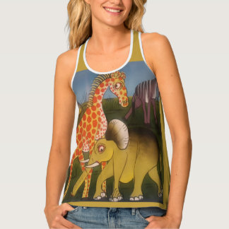 Beautiful Amazing Africa Kenya wild animal safari Singlet