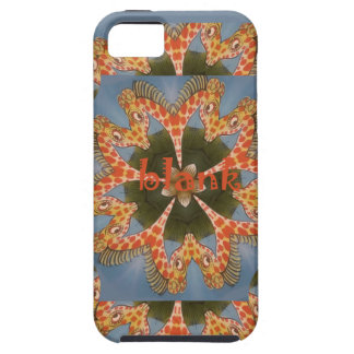 Beautiful amazing African colorful Giraffe blank iPhone 5 Covers