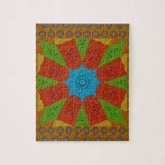 Beautiful Amazing African Feminine Design Colors. Jigsaw Puzzle
