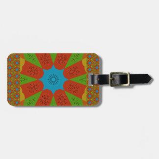 Beautiful Amazing African Feminine Design Colors. Luggage Tag