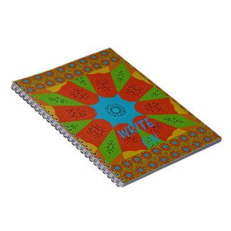 Beautiful Amazing African Feminine Design Colors. Note Books