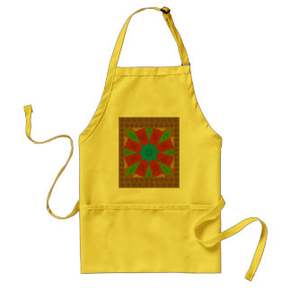 Beautiful Amazing African Feminine Design Colors. Standard Apron