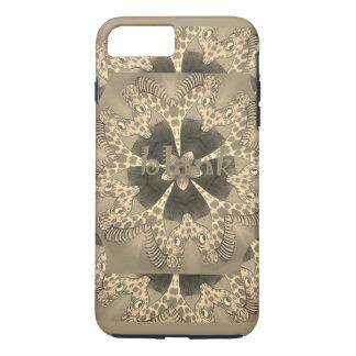 Beautiful amazing African Giraffe blank text iPhone 8 Plus/7 Plus Case