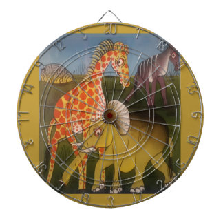 Beautiful Amazing African wild animal safari color Dartboards