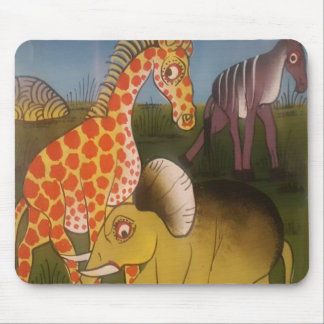 Beautiful Amazing African wild animal safari color Mouse Pad