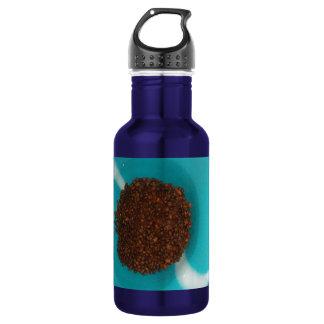 Beautiful amazing Blue Coffee design art 532 Ml Water Bottle