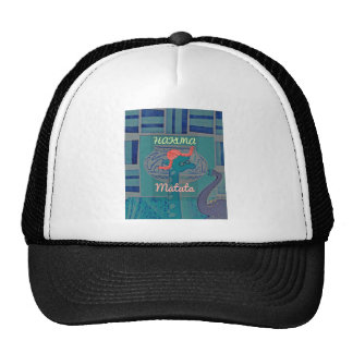 Beautiful amazing cute girly funny giraffe graphic cap