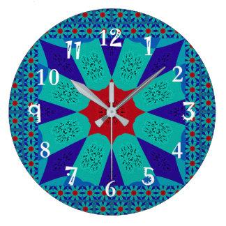 Beautiful Amazing Egyptian  Feminine Design Color Clock