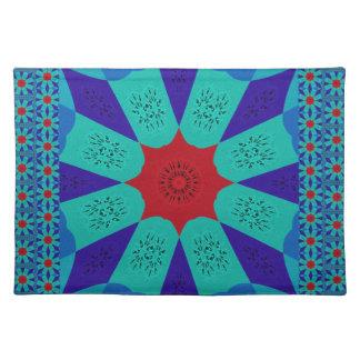 Beautiful Amazing Egyptian  Feminine Design Color Placemat