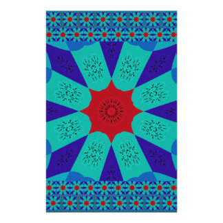 Beautiful Amazing Egyptian  Feminine Design Color Stationery Paper