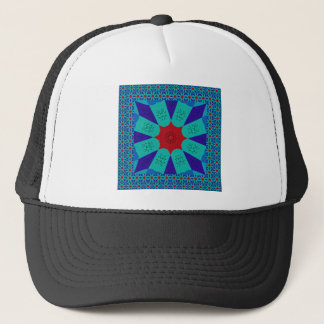 Beautiful Amazing Egyptian  Feminine Design Color Trucker Hat