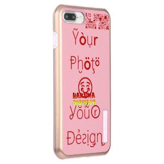 Beautiful amazing Famine design Hakuna Matata text Incipio DualPro Shine iPhone 8 Plus/7 Plus Case
