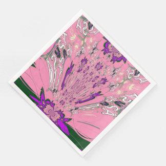 Beautiful amazing Famine floral pattern design Paper Serviettes