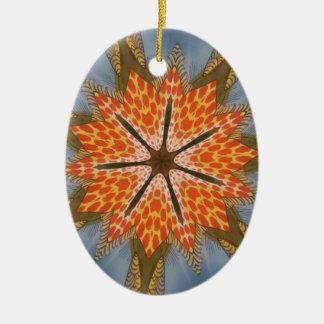 Beautiful amazing feminine African Design.animal p Ceramic Ornament