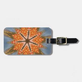 Beautiful amazing feminine African Design.animal p Luggage Tag