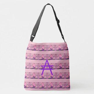Beautiful amazing Feminine Lovely A Monogrammed Crossbody Bag