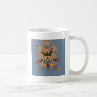 Beautiful amazing Funny African Giraffe pattern de Coffee Mug
