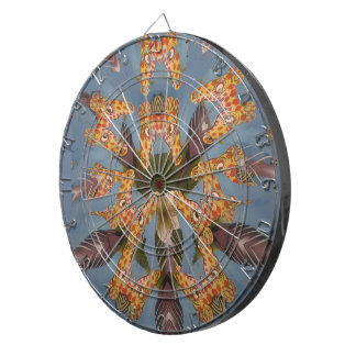 Beautiful amazing Funny African Giraffe pattern de Dart Boards