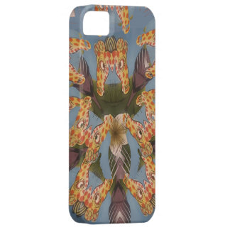 Beautiful amazing Funny African Giraffe pattern de iPhone 5 Cases