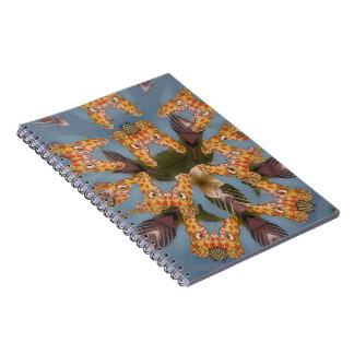 Beautiful amazing Funny African Giraffe pattern de Notebook