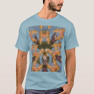 Beautiful amazing Funny African Giraffe pattern de T-Shirt