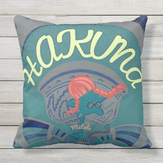 Beautiful amazing Hakuna Matata design art Throw Pillow