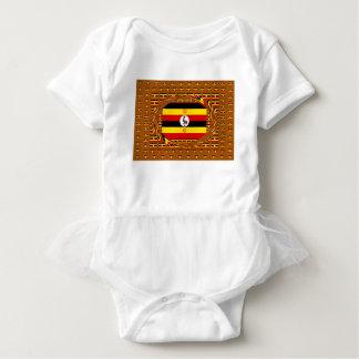 Beautiful amazing Hakuna Matata Lovely Uganda Colo Baby Bodysuit