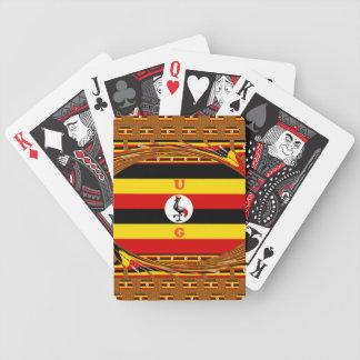 Beautiful amazing Hakuna Matata Lovely Uganda Colo Bicycle Playing Cards