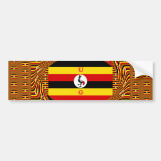 Beautiful amazing Hakuna Matata Lovely Uganda Colo Bumper Sticker