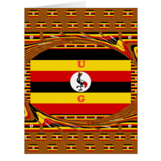 Beautiful amazing Hakuna Matata Lovely Uganda Colo Card
