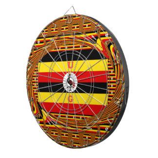 Beautiful amazing Hakuna Matata Lovely Uganda Colo Dartboard
