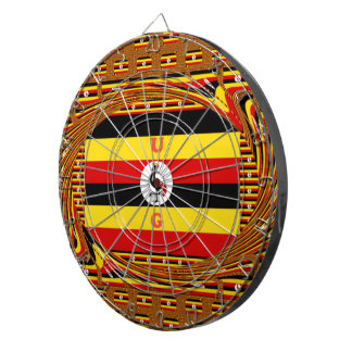 Beautiful amazing Hakuna Matata Lovely Uganda Colo Dartboards