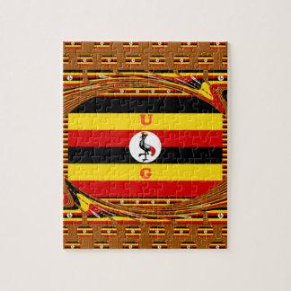 Beautiful amazing Hakuna Matata Lovely Uganda Colo Jigsaw Puzzle