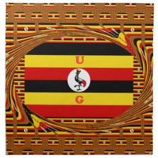 Beautiful amazing Hakuna Matata Lovely Uganda Colo Napkin