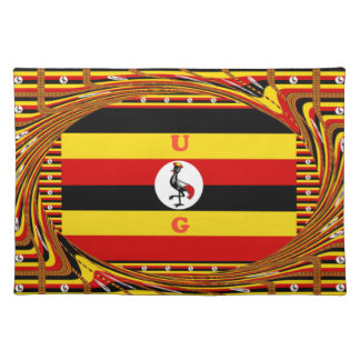Beautiful amazing Hakuna Matata Lovely Uganda Colo Placemat