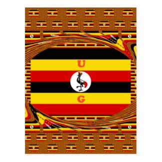 Beautiful amazing Hakuna Matata Lovely Uganda Colo Postcard