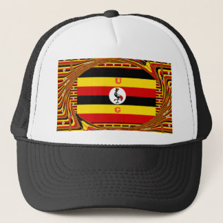 Beautiful amazing Hakuna Matata Lovely Uganda Colo Trucker Hat