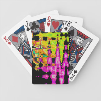 Beautiful Amazing  water colors pattern Bicycle Playing Cards