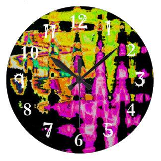 Beautiful Amazing  water colors pattern Clocks