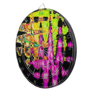 Beautiful Amazing  water colors pattern Dartboard