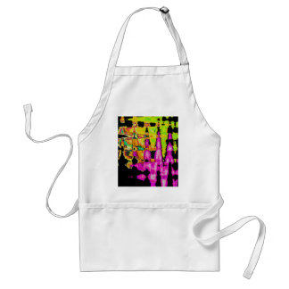 Beautiful Amazing  water colors pattern Standard Apron