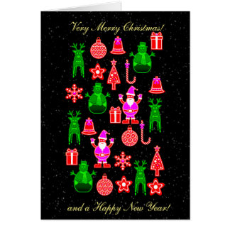 Beautiful and funny Gingerbread card