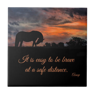 Beautiful and inspiring Horse Art Tile