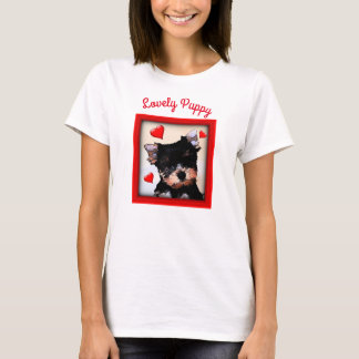 Beautiful and Lovely Pet Lovers Puppy Dog T-shirt