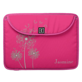 Beautiful and Stylish Dandelion Flying in the wind Sleeves For MacBook Pro