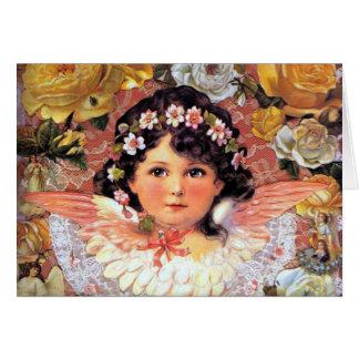 Beautiful Angel Child Card