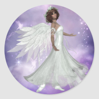 Beautiful Angel Design 3 Stickers