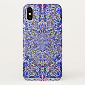 Beautiful Angel Spirit Hologram Watercolor Mandala iPhone X Case