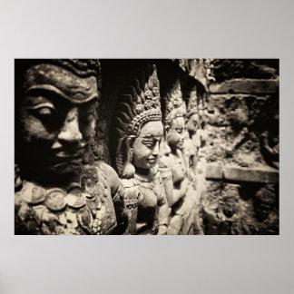 Beautiful Apsaras Poster