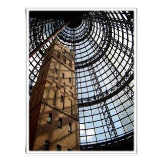 Beautiful Architecture -Melbourne city Postcard